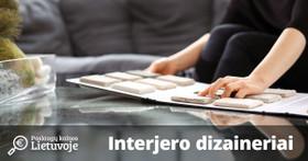 Interjero dizainerių kainos Lietuvoje, 2018-2019 m.