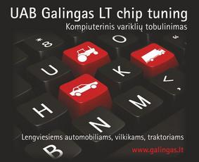 GalingasLT chip tuning: pažįstame jūsų automobilius nuo 2006 / UAB Galingas LT / Darbų pavyzdys ID 1785
