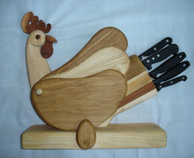 stovas įrankiams ir pjaustymo lentelės - sparneliai