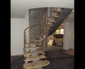 Laiptai, tureklai ir kiti metalo gaminiai. / Andrius Plunge / Darbų pavyzdys ID 17249