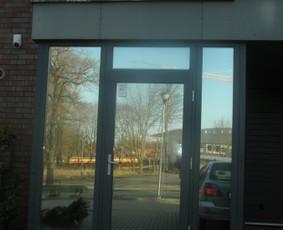 Plėvelės klijavimas, stiklo sienelės