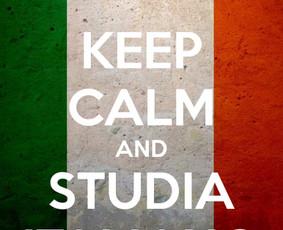 Italų kalbos pamokos