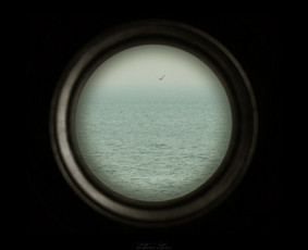 """Observation I"" (40X40cm) © Tatjana Iljina"