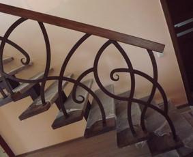 Laiptai, tureklai ir kiti metalo gaminiai. / Andrius Plunge / Darbų pavyzdys ID 46218