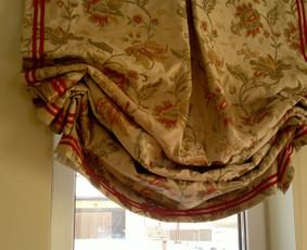 Interjero tekstilės siuvimas