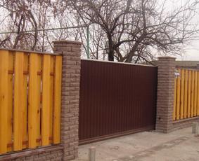 Automatiniai vartai, domofonai.