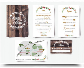 Vestuvių kvietimo dizainas