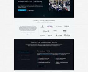 Reprezentacinio puslapio dizaino karpymas (front-end)