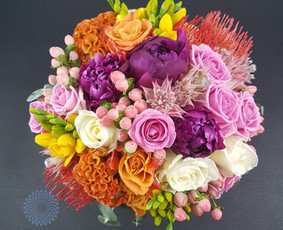 Pūkuotas Vėjas gėlių studija