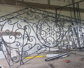 Metalo konstrukciju gamyba(kalviai, metalo kuribos meistrai) / Andrius Bagdonas / Darbų pavyzdys ID 383847