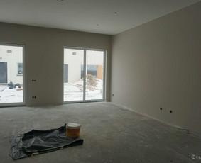 Namų  dažymas iš išorės ir vidaus, tapetavimas, laminatas