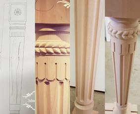 2D, 3D ir 4D frezavimas, 3D skenavimas / 3D Group EU, 3D Wood PRO / Darbų pavyzdys ID 393097