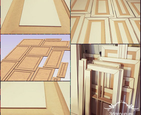 2D, 3D ir 4D frezavimas, 3D skenavimas / 3D Group EU, 3D Wood PRO / Darbų pavyzdys ID 393099