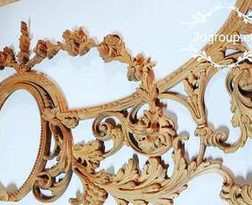 2D, 3D ir 4D frezavimas, 3D skenavimas / 3D Group EU, 3D Wood PRO / Darbų pavyzdys ID 393105