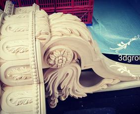 2D, 3D ir 4D frezavimas, 3D skenavimas / 3D Group EU, 3D Wood PRO / Darbų pavyzdys ID 393109