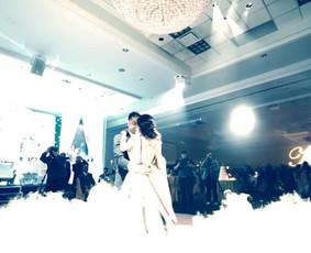 Žemas rūkas vestuvėms | Įspūdingas Jaunųjų pirmasis šokis