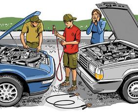 Automobilių užvedimas