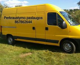 Perkraustymas Kaune, krovinių, baldų pervežimas / Kraustymas Kaune / Darbų pavyzdys ID 396573