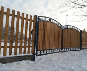 Tvoros, kiemo vartai, montavimas, kalvystės elementai. / UAB Metalo spektras / Darbų pavyzdys ID 397007