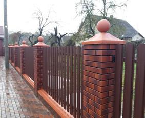 Tvoros, kiemo vartai, montavimas, kalvystės elementai. / UAB Metalo spektras / Darbų pavyzdys ID 397011
