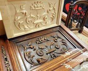 2D, 3D ir 4D frezavimas, 3D skenavimas / 3D Group EU, 3D Wood PRO / Darbų pavyzdys ID 401855