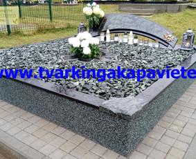 Kapo dengimas plokšte, paminklai kapams, kapų tvarkymas / TVARKINGA KAPAVIETĖ / Darbų pavyzdys ID 401871