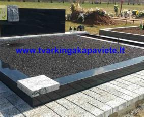 Kapo dengimas plokšte, paminklai kapams, kapų tvarkymas / TVARKINGA KAPAVIETĖ / Darbų pavyzdys ID 401873
