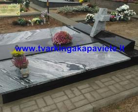 Kapo dengimas plokšte, paminklai kapams, kapų tvarkymas / TVARKINGA KAPAVIETĖ / Darbų pavyzdys ID 401883