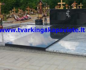 Kapo dengimas plokšte, paminklai kapams, kapų tvarkymas / TVARKINGA KAPAVIETĖ / Darbų pavyzdys ID 401891