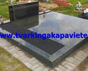 Kapo dengimas plokšte, paminklai kapams, kapų tvarkymas / TVARKINGA KAPAVIETĖ / Darbų pavyzdys ID 401895