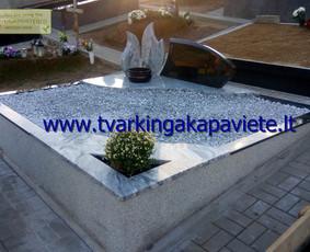 Kapo dengimas plokšte, paminklai kapams, kapų tvarkymas / TVARKINGA KAPAVIETĖ / Darbų pavyzdys ID 401905