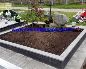 Kapo dengimas plokšte, paminklai kapams, kapų tvarkymas / TVARKINGA KAPAVIETĖ / Darbų pavyzdys ID 401907
