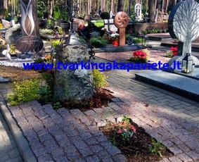 Kapo dengimas plokšte, paminklai kapams, kapų tvarkymas / TVARKINGA KAPAVIETĖ / Darbų pavyzdys ID 401911