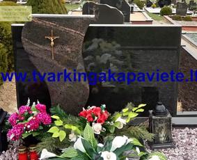 Kapo dengimas plokšte, paminklai kapams, kapų tvarkymas / TVARKINGA KAPAVIETĖ / Darbų pavyzdys ID 401917