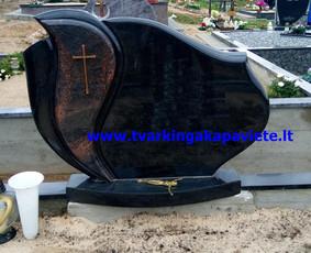 Kapo dengimas plokšte, paminklai kapams, kapų tvarkymas / TVARKINGA KAPAVIETĖ / Darbų pavyzdys ID 401931