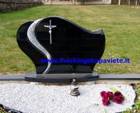 Kapo dengimas plokšte, paminklai kapams, kapų tvarkymas / TVARKINGA KAPAVIETĖ / Darbų pavyzdys ID 401933