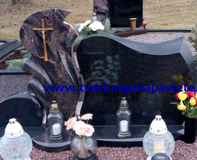 Kapo dengimas plokšte, paminklai kapams, kapų tvarkymas / TVARKINGA KAPAVIETĖ / Darbų pavyzdys ID 401935