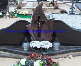 Paminklai, antkapiai, granito plokštės, kapų tvarkymas