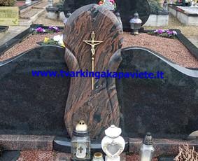 Kapo dengimas plokšte, paminklai kapams, kapų tvarkymas / TVARKINGA KAPAVIETĖ / Darbų pavyzdys ID 401947