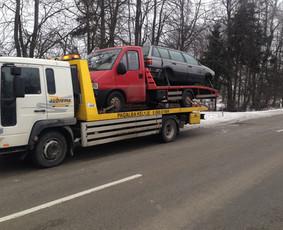 Technine Pagalba  kelyje automobilių pervežimas