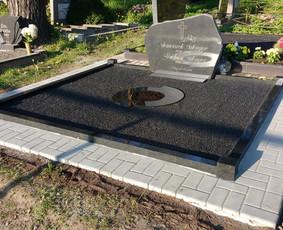 Kapų tvarkymas, granito plokštės, Paminklai, antkapiai / Paulius Latvys / Darbų pavyzdys ID 408979