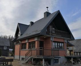 Stogų dengimas, stogdengiai, fasadai