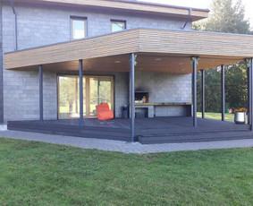 Profesionalus terasos, stoginės įrengimas | MDS terasos
