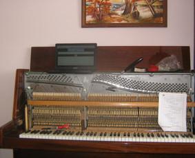 Fortepijonų ir pianinų derinimas. / Simonas Turla / Darbų pavyzdys ID 426203