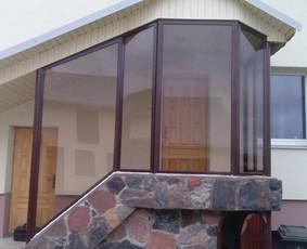 Balkonu stiklinimas