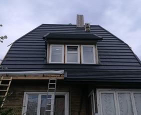 slaitiniu stogu dengimas montavimas irengimas skardinimas