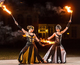 Viduramžiai LT ugnies šou INFERNO