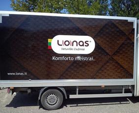 Reklama ant transporto, lipdukų gamyba, lauko/vidaus reklama / Trigalvis.lt / Darbų pavyzdys ID 451423