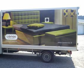 Reklama ant transporto, lipdukų gamyba, lauko/vidaus reklama / Trigalvis.lt / Darbų pavyzdys ID 451425