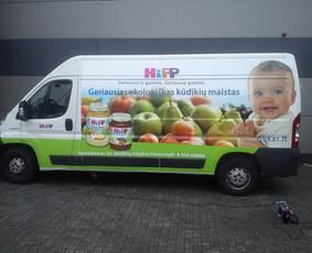 Reklama ant transporto, lipdukų gamyba, lauko/vidaus reklama / Trigalvis.lt / Darbų pavyzdys ID 451427